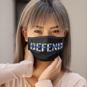 Defund The Police Police Officer Face Mask