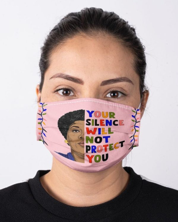Audre Lorde Feminism Your Silence Will Not Protect You Equality Civil Rights Icon Face Mask
