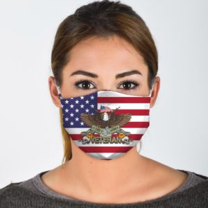 US Army Veteran Face Mask