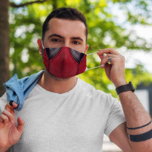 Superhero Healing Immortal Power American Comic Face Mask