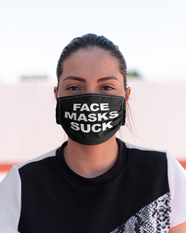 Suck Funny Face Mask