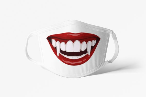 Vampire Mouth Face Mask