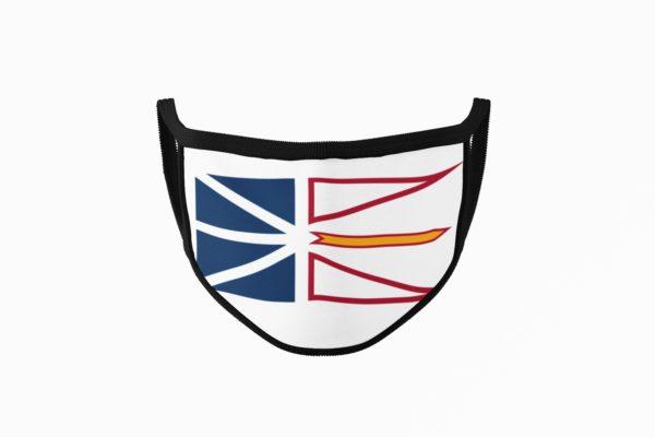 Newfoundland Flag Mouth Face Mask