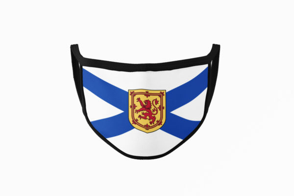 Nova Scotia Flag Mouth Face Mask