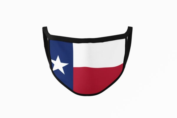 Texas Flag Mouth Face Mask