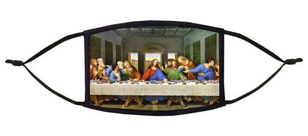 The Last Supper Leonardo da Vinci Face Mask
