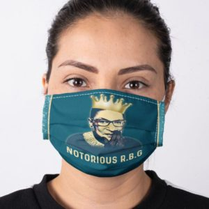 RBG Notorious Feminism Equality Ruth Bader Ginsburg Face Mask