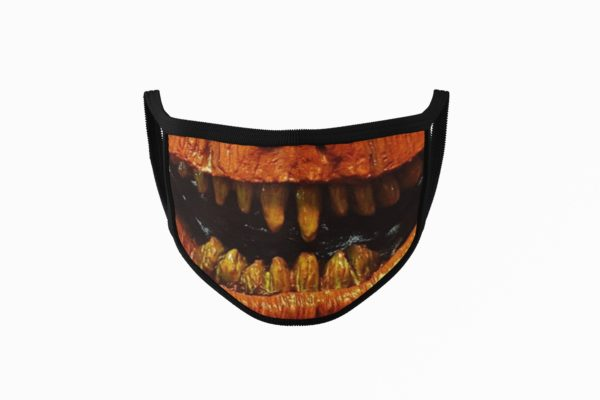 Pumpkin Mouth Face Mask