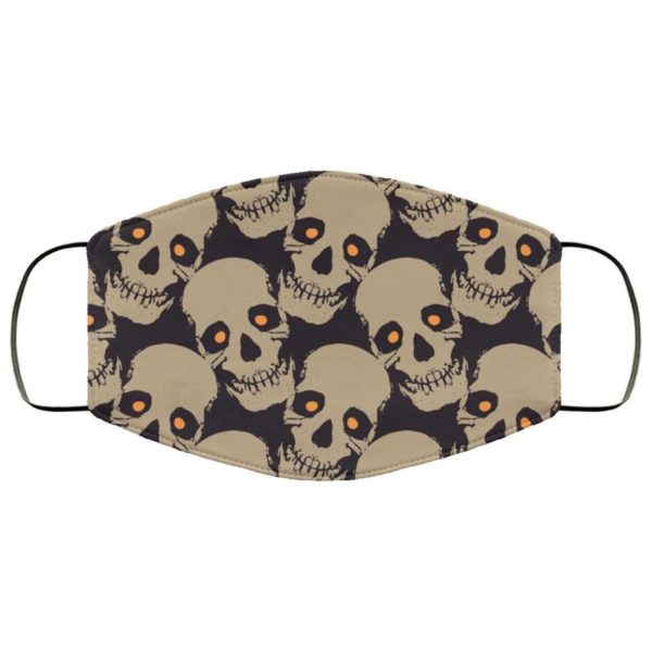 Creepy Skull Halloween Face Mask - Trick or Treat Mask