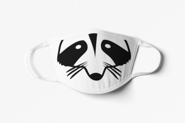 Kids Raccoon Mouth Face Mask