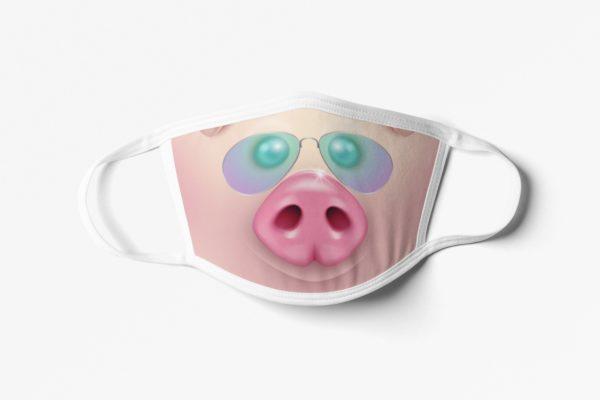 Piggy Face Mask