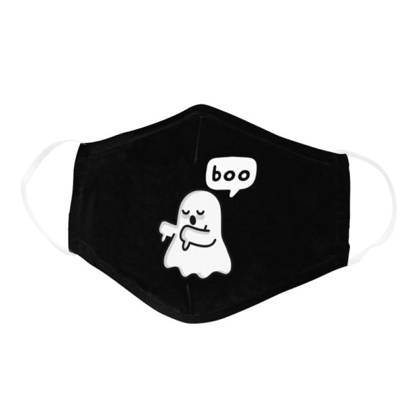 Ghost Of Disapproval Boo Face Mask