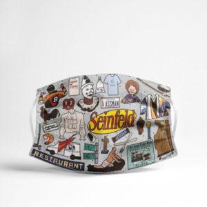 Seinfeld Seinfeld Restaurant Face Mask Seinfeld TV Show Face Mask
