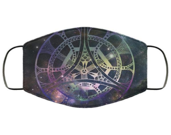 Galactic Mandala Face Mask
