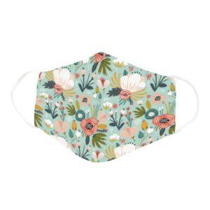 Cute Beautiful Flower Bush Lover Floral Face Mask