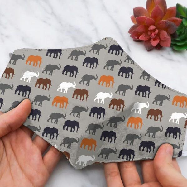 Elephant small elephan Face mask