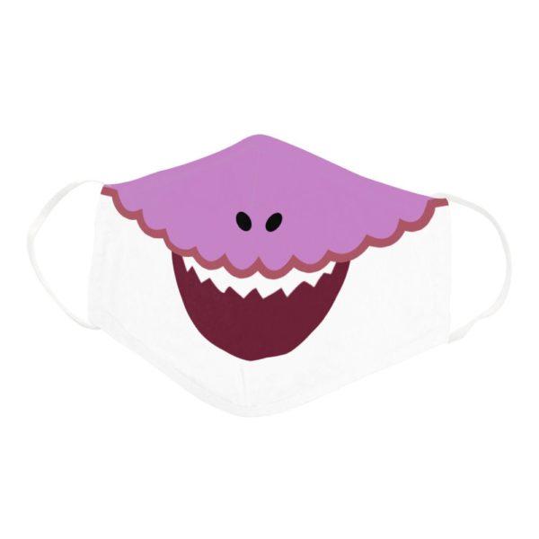 Funny Shark Family Cartoon Grandma Shark Doo Doo Doo Face Mask