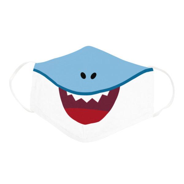 Funny Shark Family Cartoon Baby Shark Doo Doo Doo Face Mask