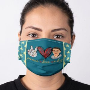 Ruth Bader Ginsburg RBG Notorious Face Mask