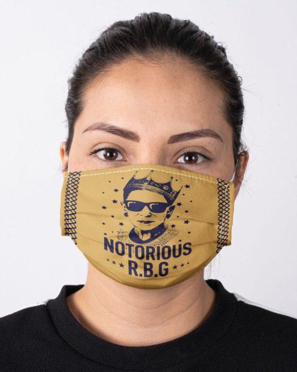 Ruth Bader Ginsburg RBG Notorious Feminism Feminist Girl Power Face Mask