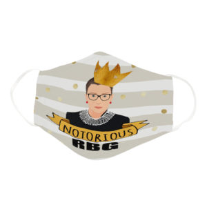 Notorious Ruth Bader Ginsburg RBG Supreme Court Justice Face Mask