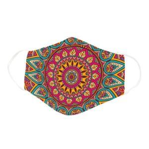 Beautiful Spiritual Mandala Design Yoga Lover Gift Face Mask