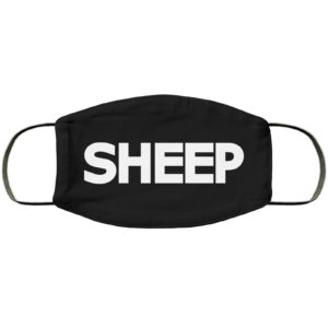 Sheep Face Mask Reusable