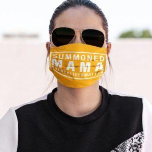 Wall of Moms Black Lives Matter Face Mask