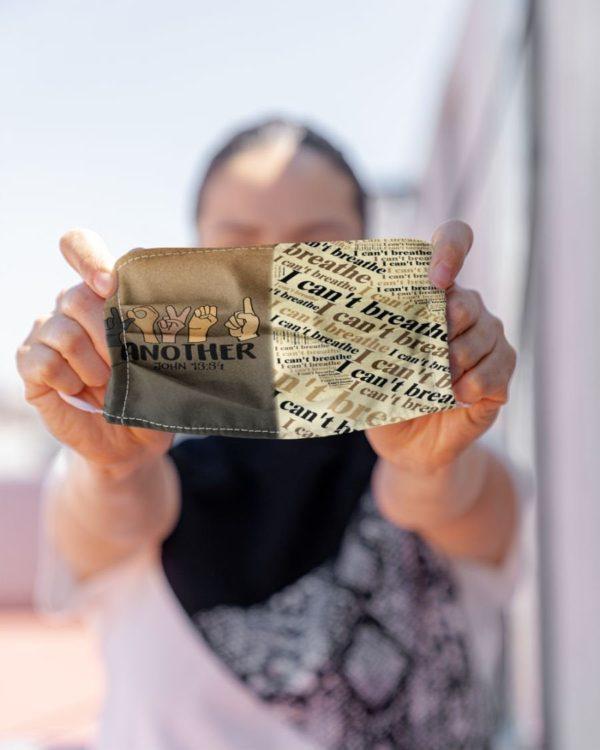 Love One Another Hand Sign Melanin Black Lives Matter Face Mask