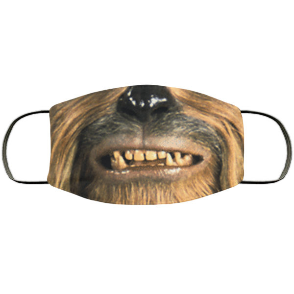 Chewbacca Face Mask Reusable