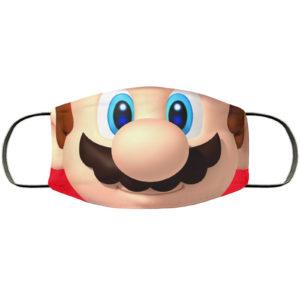 Mario Face Mask Reusable