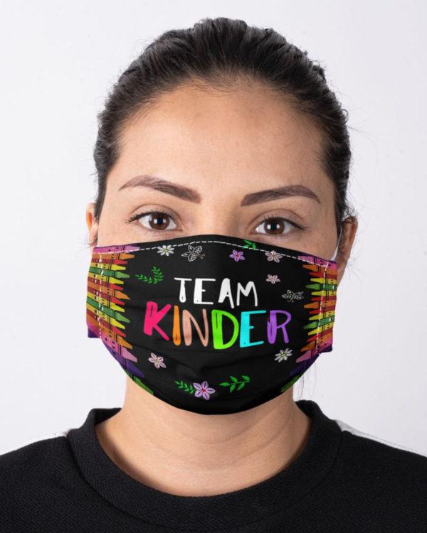 Back To School Team Kinder Mask