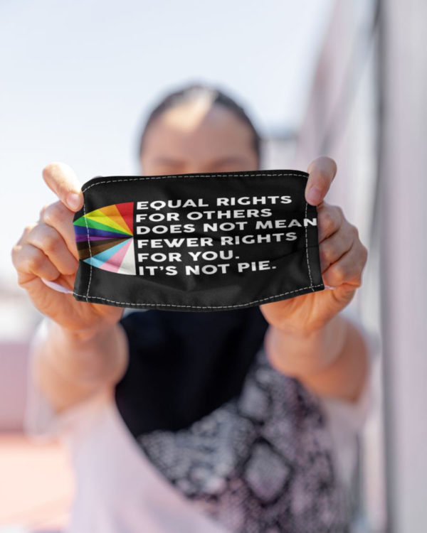 Equality Equality Humanity Equal Rights Mask Civil Rights Resist Face Mask