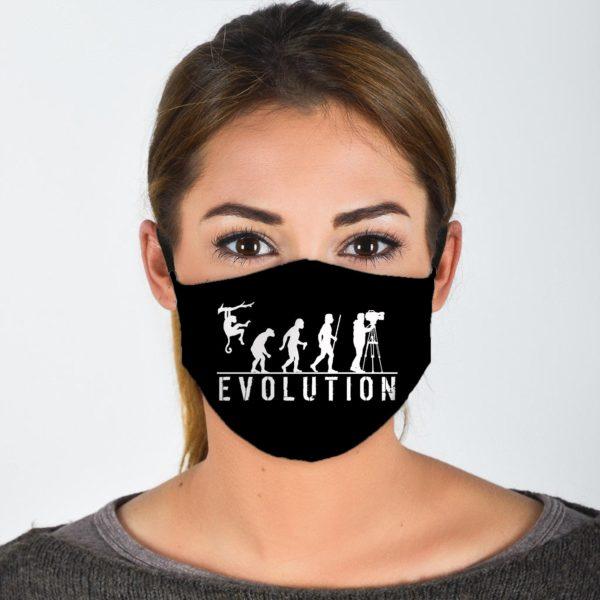 Evolution Of Photographer Face Mask