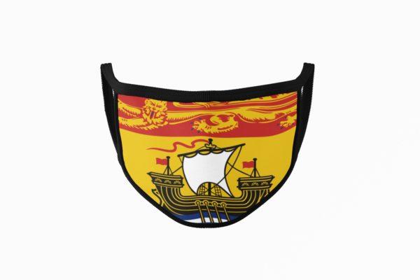 New Brunswick Flag Mouth Face Mask