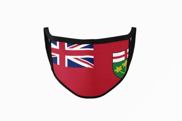 Ontario Flag Mouth Face Mask