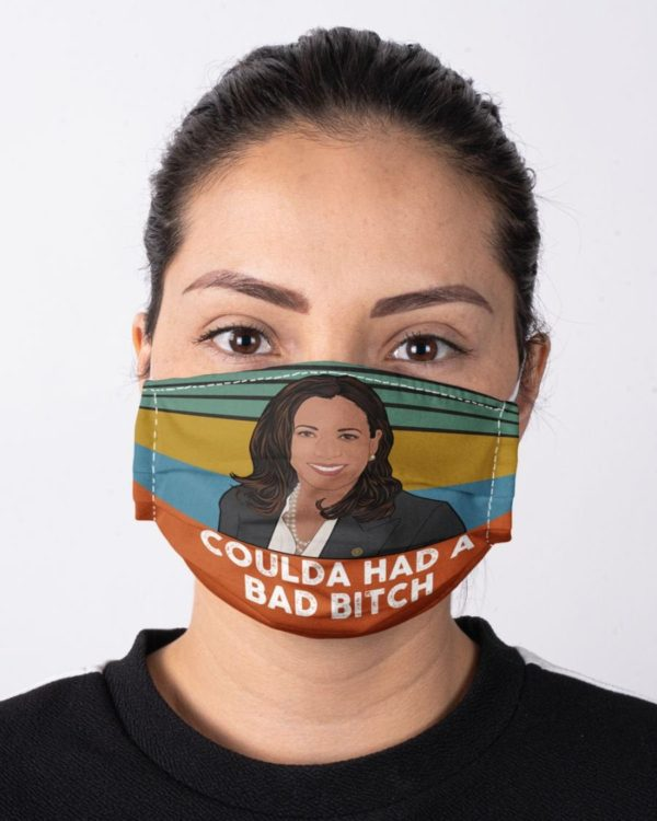Kamala Harris Coulda Had A Bad Btch Kamala Harris for the People Face Mask