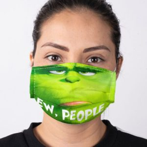 The Grinch Mr Grinch Ew People Face Mask