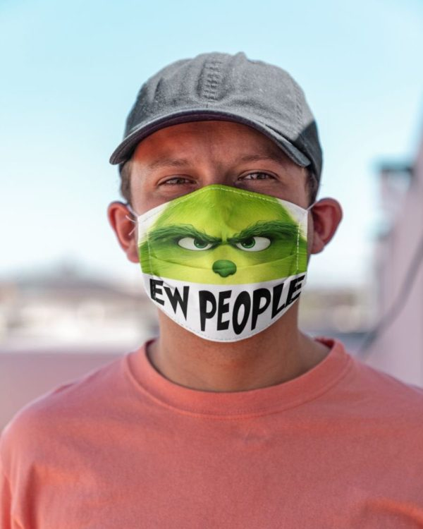 The Grinch Ew People Face Mask