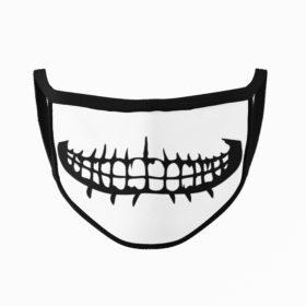 Razor Mouth Halloween Face Mask