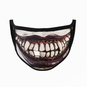 Zombie Mouth Halloween Face Mask