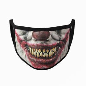 Clown Mouth Halloween Face Mask