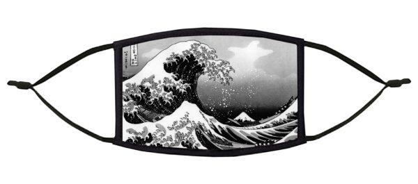 The Great Wave off Kanagawa Hokusai Face Mask