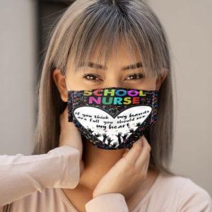 Nurse Face Mask Nursing Face Mask School Nurse Nurse Graduation Mask