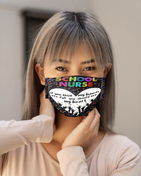 Nurse Face Mask Nursing Face Mask School Nurse Nurse Graduation Mask