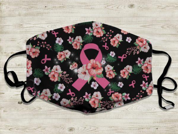 Cancer Flower Diabetic Awareness Face Mask
