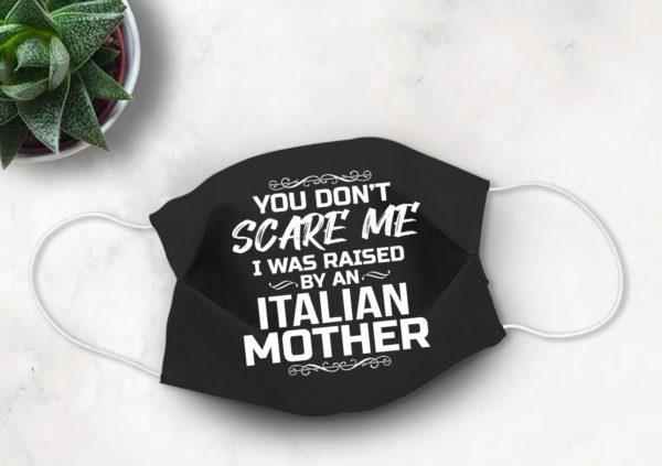 Italian Mother Quarantine Face Mask