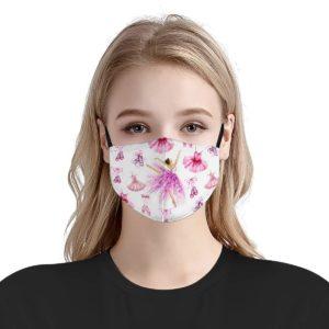 Ballet ballerina beauty face mask
