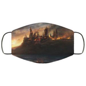 Battle of Hogwarts Face Mask