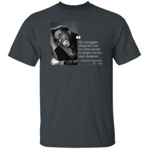 Wakanda Forever Black Panther Chadwick Boseman T-Shirt